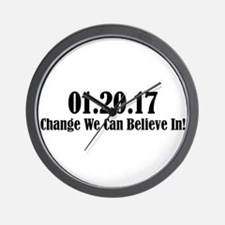 01.20.17 - Change We Can Believe In! Wall Clock