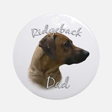 Ridgeback Dad2 Ornament (Round)