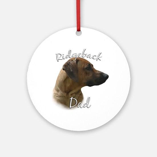 Ridgeback Dad2 Ornament (Round)