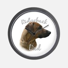 Ridgeback Dad2 Wall Clock