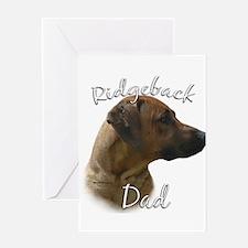 Ridgeback Dad2 Greeting Card