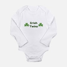 Unique Twin irish Long Sleeve Infant Bodysuit