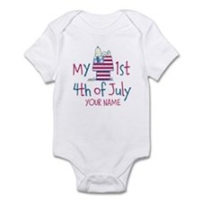 Snoopy - My 1st Fourth Infant Bodysuit