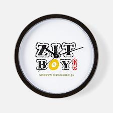ZIT BOY! - SPOTTY MULDOON Jr Wall Clock