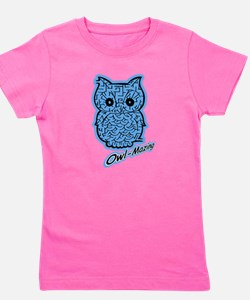 Cute Boys owl Girl's Tee