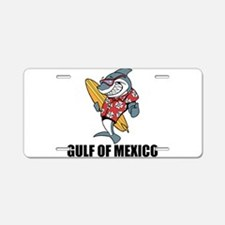 Gulf Of Mexico Aluminum License Plate