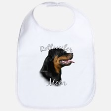 Rottweiler Mom2 Bib