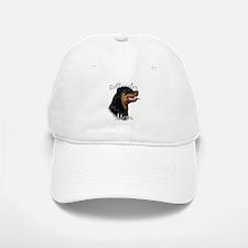 Rottweiler Mom2 Baseball Baseball Cap