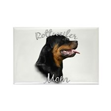 Rottweiler Mom2 Rectangle Magnet