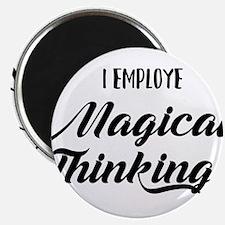 I Employe Magical Thinking HR Design Magnets