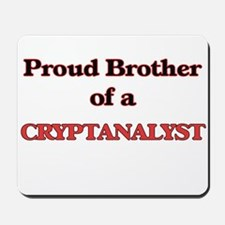 Proud Brother of a Cryptanalyst Mousepad