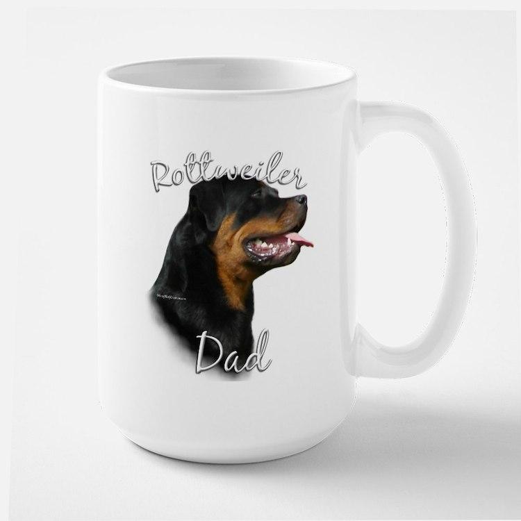 Rottweiler Dad2 Mug
