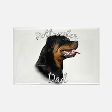 Rottweiler Dad2 Rectangle Magnet