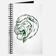 Lion Mascot (Green) Journal