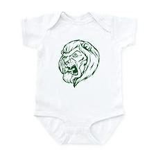 Lion Mascot (Green) Infant Bodysuit