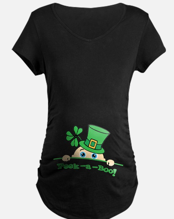 Peek a boo! Maternity T-Shirt