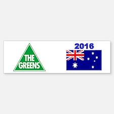 Greens 2016 Bumper Bumper Sticker