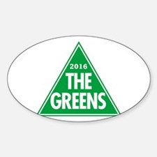 Greens 2016 Sticker (Oval)