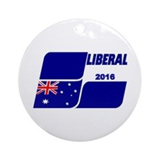 Liberals 2016 Round Ornament