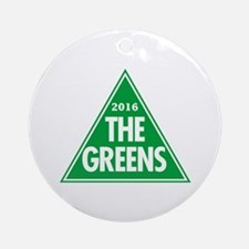 Greens 2016 Round Ornament
