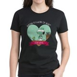 Snoopy nurseing personalized Women's Dark T-Shirt