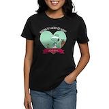 Snoopy nurseing personalized Women's Dark T-Shirt