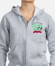 Snoopy Nursing - Personalized Zip Hoody