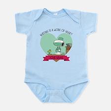 Snoopy Nursing - Personalized Infant Bodysuit