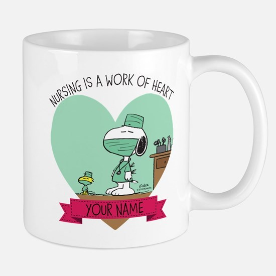 Snoopy Nursing - Personalized Mug