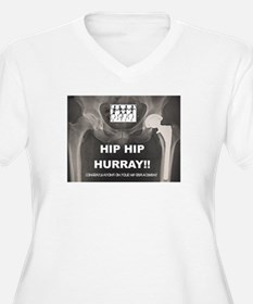 Hip Hip Hurray on your Hip Repla Plus Size T-Shirt