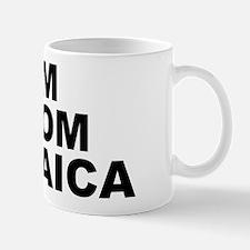 I'm From Jamaica Small White Mug Mugs
