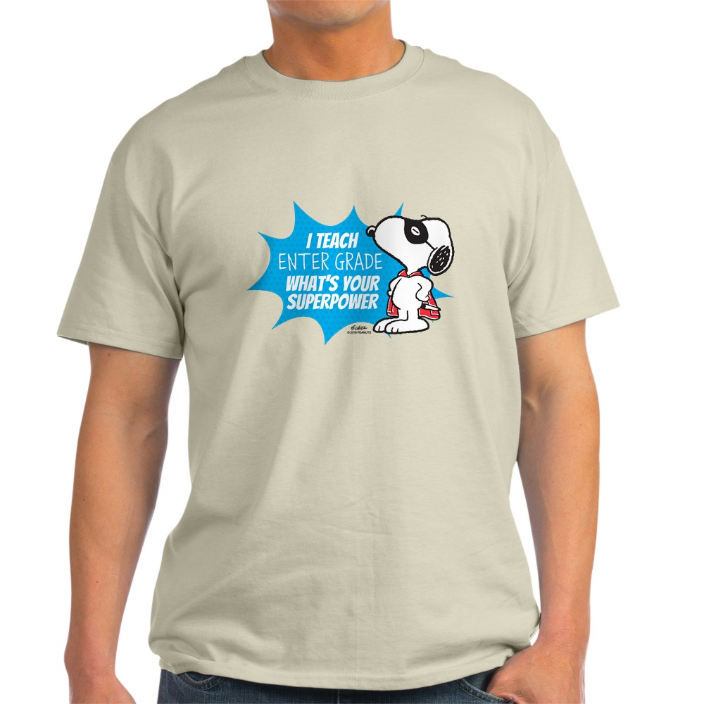 CafePress Snoopy Teacher - Personalized T-Shirt