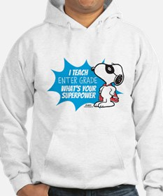 Snoopy Teacher - Personalized Hoodie Sweatshirt