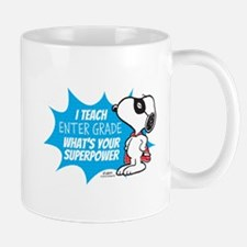 Snoopy Teacher - Personalized Mug