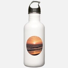 Sunset at the Beach Sports Water Bottle