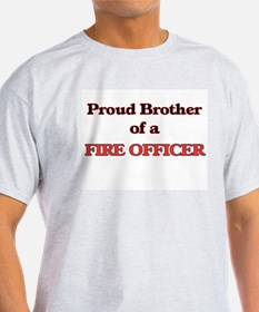 Proud Brother of a Fire Officer T-Shirt