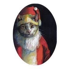 Cranky Cat Santa