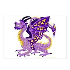 Great Purple Dragon Postcards (Package of 8)