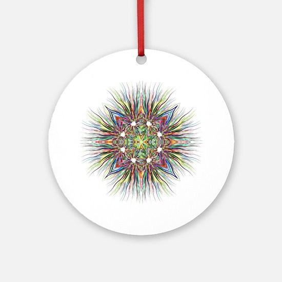 Unique Hexagon Round Ornament
