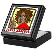Peace Brother Keepsake Box