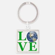Love Earth Keychains