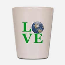 Love Earth Shot Glass