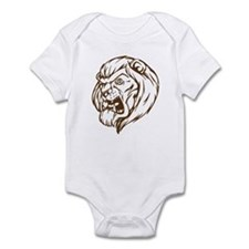 Lion Mascot (Brown) Infant Bodysuit
