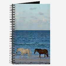 Wild Horses On The Beach Journal
