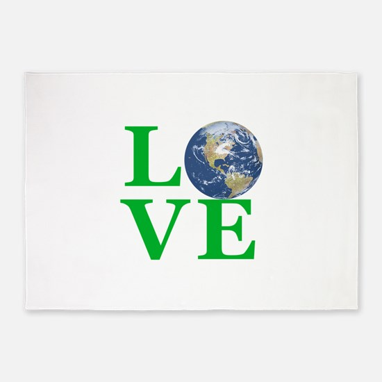 Love Earth 5'x7'Area Rug