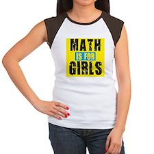 Math for girls Women's Cap Sleeve T-Shirt