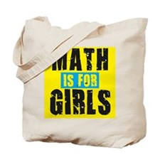 Math for girls Tote Bag