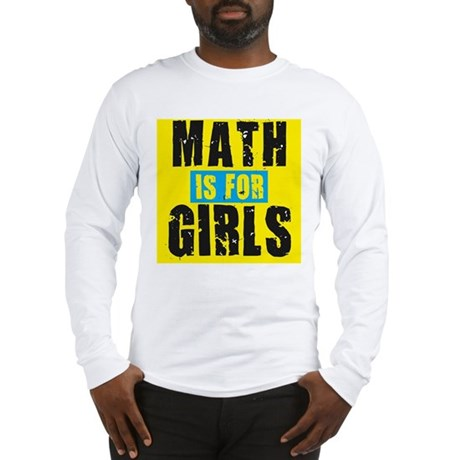 Math for girls Long Sleeve T-Shirt