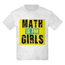 Math for girls T-Shirt