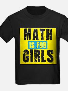 Math for girls T